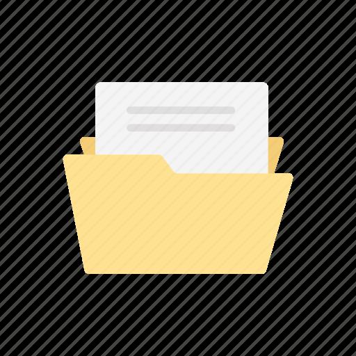 File, folder, note, sheet icon - Download on Iconfinder