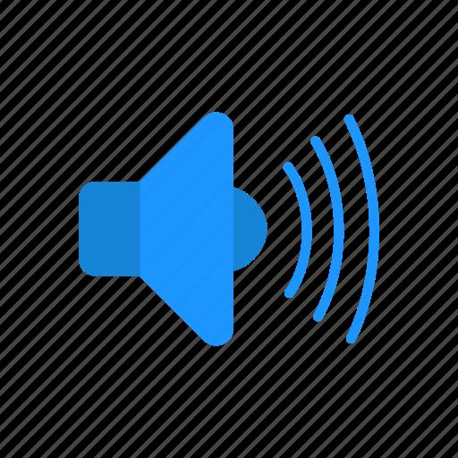 full volume, sound, speaker, volume icon