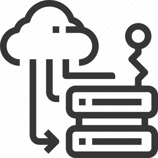 Cloud, data, network, server, storage icon - Download on Iconfinder