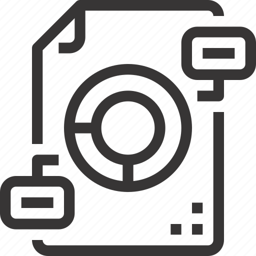 analytics, data, database, documentf, file, report icon
