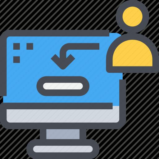 account, avatar, login, people, profile, user icon