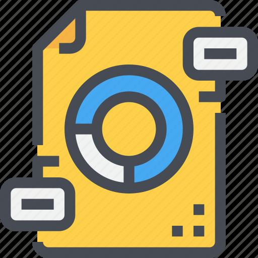 analytics, data, document, file, marketing, paper, report icon