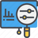 analysis, analytics, business, chart, marketing, report icon