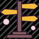 analysis, arrow, data, direction, path