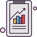 analysis, bar, chart, data