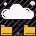 analysis, cloud, data, folder, server