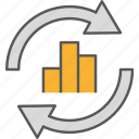 analysis, business, data, statistic icon