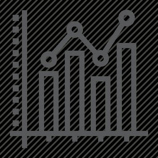 analytic, bar, chart, data, graph, growth, histogram icon