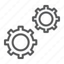 cog, configuration, data, engine, gear, settings, wheel icon
