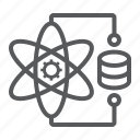 gear, science, molecule, connection, atom, data, network