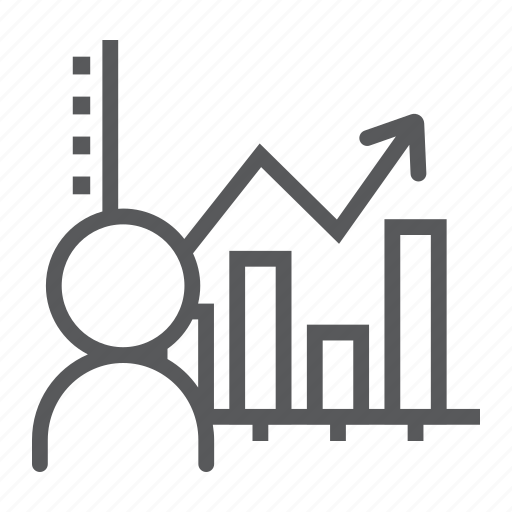 analysis, analytic, chart, data, graph, social, user icon