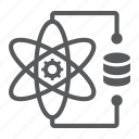 atom, connection, data, gear, molecule, network, science