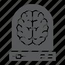 analytic, brain, cyber, data, learning, machine, neural icon
