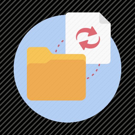 data exchanging, data sharing, data storage, data synchronization, data transfer icon