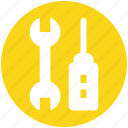 maintenance, screwdriver, setting, tool, wrench icon