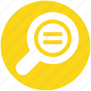 find, magnifier, magnifying glass, search, zoom
