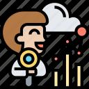 analytics, data, report, statistic, information