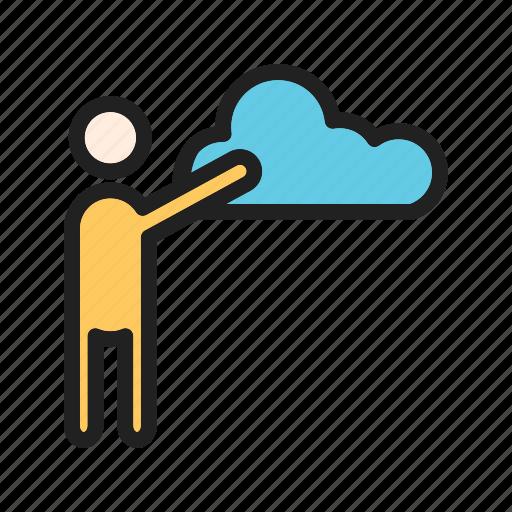 adjustment, analysis, data, filtering, information, network, server icon