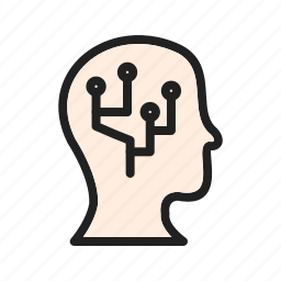data, figures, information, intelligence, interface, system, technology icon