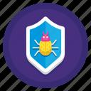 anti, anti virus, antivirus, bug, error, glitch, virus icon