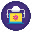 architecture, cloud, cloud hosting, computing icon