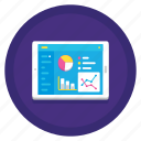 chart, dashboard, diagram, graph, pie chart, report, statistics