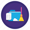 cleaning, cleanup, data, data cleaning icon