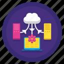 sync, data, hosting, synchronization, cloud icon