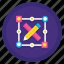 algorithm, design, designer, illustration, vector icon
