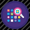 random, random sampling, sampling icon