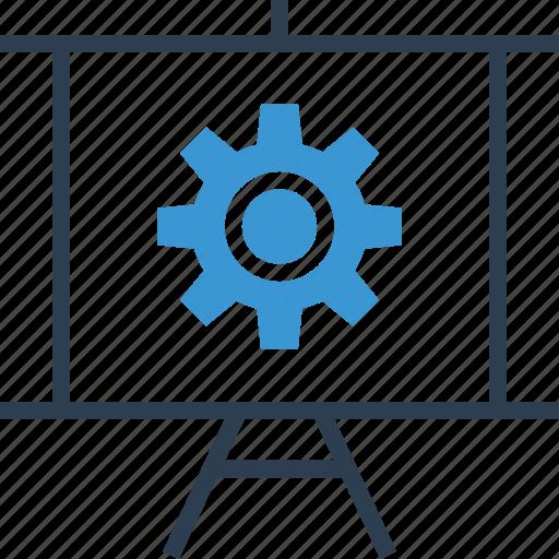 analytics, board, graph icon