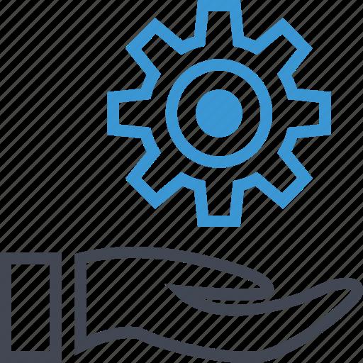 business, options, setup, work icon