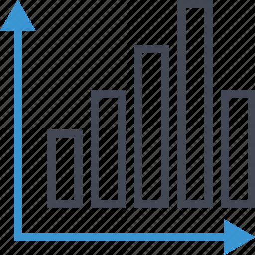 arrow, arrows, data, report icon