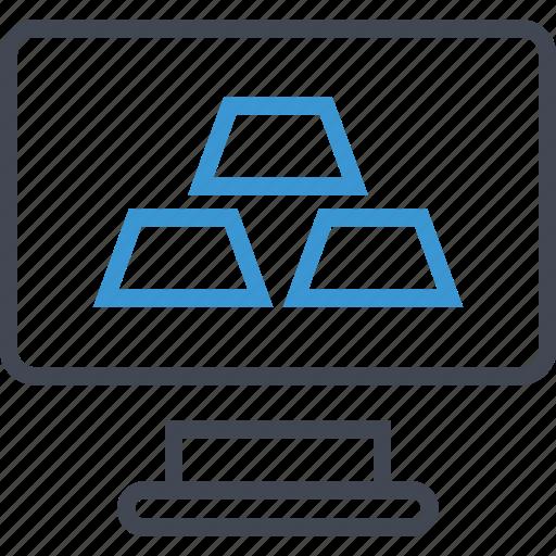 folder, monitor, screen icon