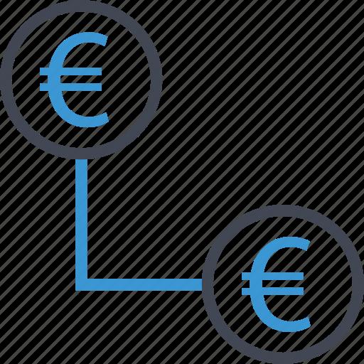 connect, money, revenue icon