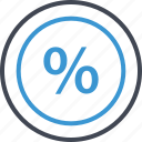 interest, percent, percentage icon