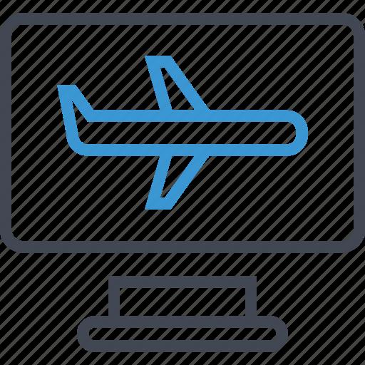 air, plane, travel icon