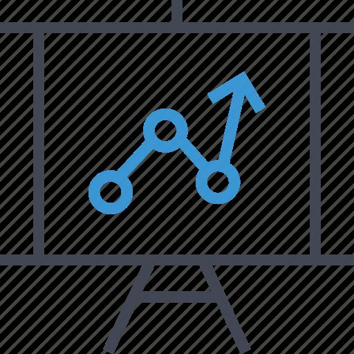 analytics, analyze, presentation icon
