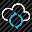 data, database, internet, network, refrech, storage, sync