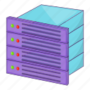 database, server, web icon