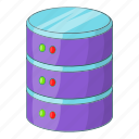 data, file, server icon