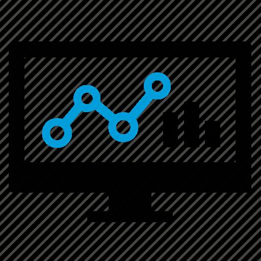 analysis, analytics, big data, data science icon