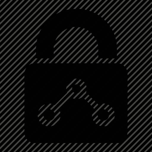 data, locked, privacy, private icon