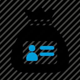 data, id, identity, theft icon
