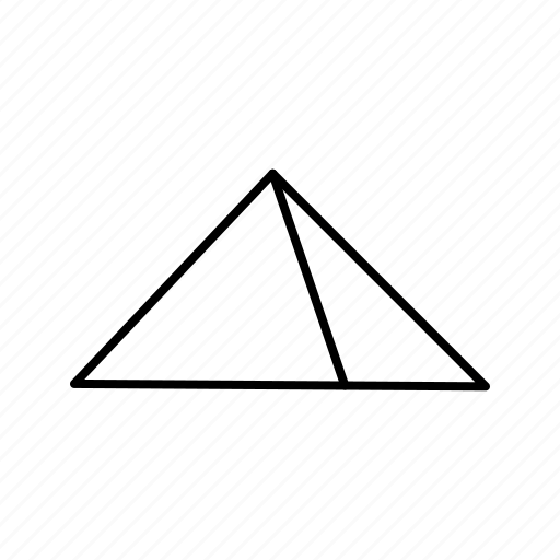 Pyramid, egypt, triangle icon - Download on Iconfinder