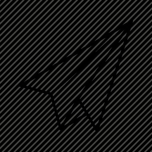 Paper, plane icon - Download on Iconfinder on Iconfinder