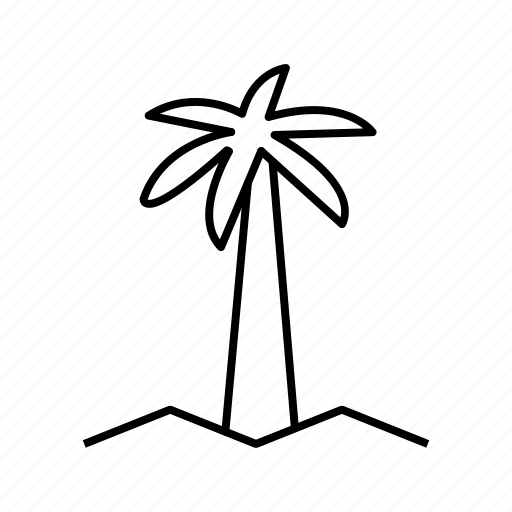 coconut, nature, plant, tree icon