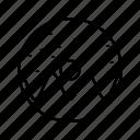 doughnut, sprinkled icon