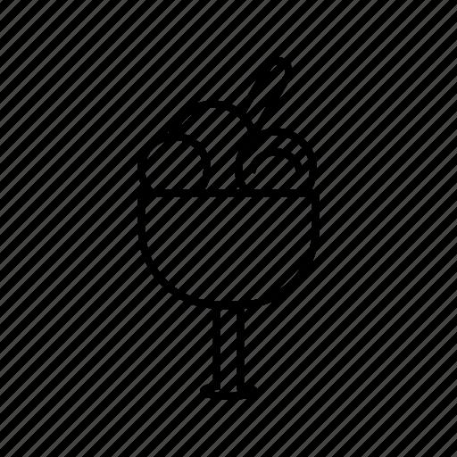 Goblet, icecream, summer icon - Download on Iconfinder