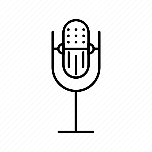 mic, microphone, multimedia, voice icon